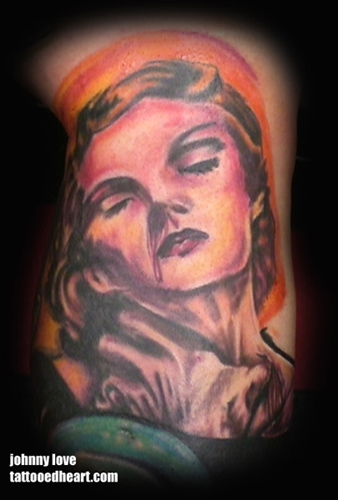 pin up tattoos for men. Pin Up Tattoos,