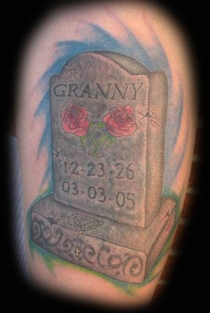 Markuss Decker - tombstone cover up