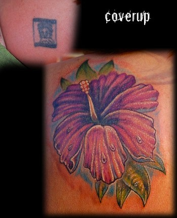 with the name hawaiian flower tattoo designs butterfly tattoos - tattoo
