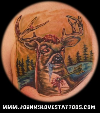 tattoo pictures of dragons deer tattoo pictures deer hunting tattoos