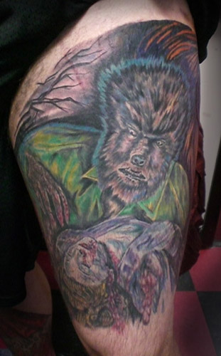 Johnny Love - the werewolf by johnny love. Keyword Galleries: Color Tattoos,