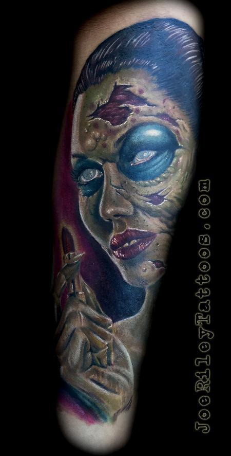 Joe riley tattoonow for Tattoo artists las vegas