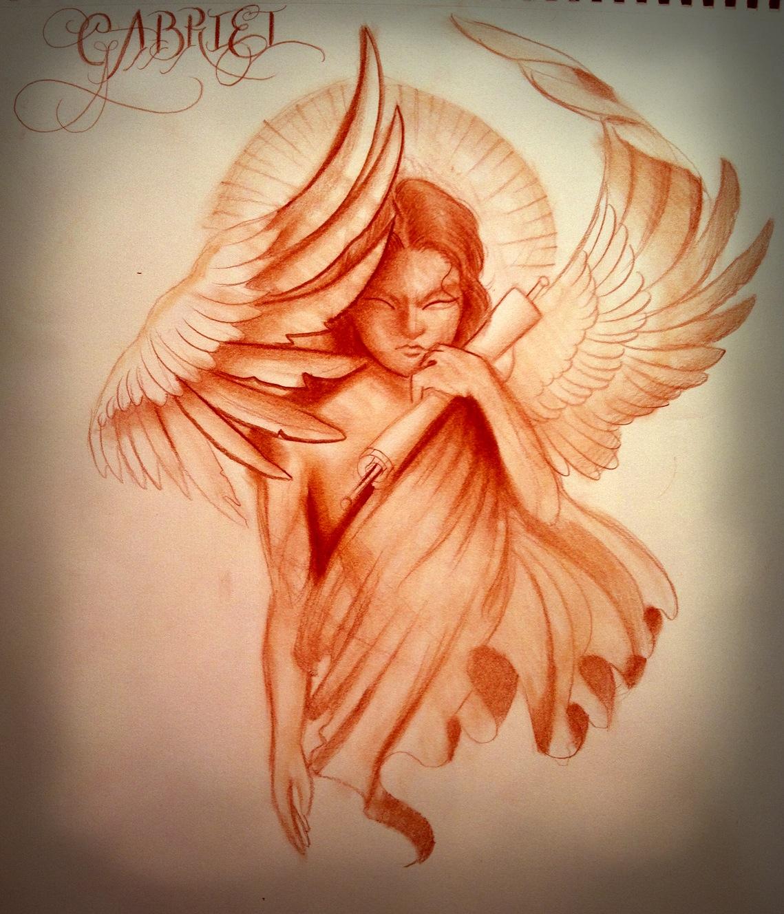 Archangel Gabriel Tattoo Designs Wwwgalleryhipcom The Hippest Pics