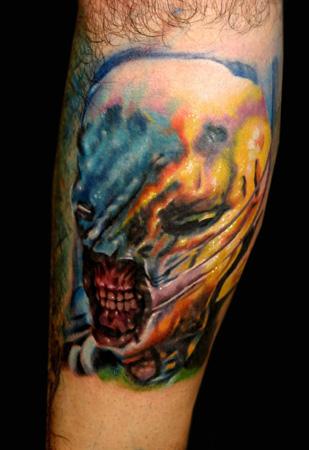 Oddities Tattoos, Movie Horror Tattoos, Realistic Tattoos
