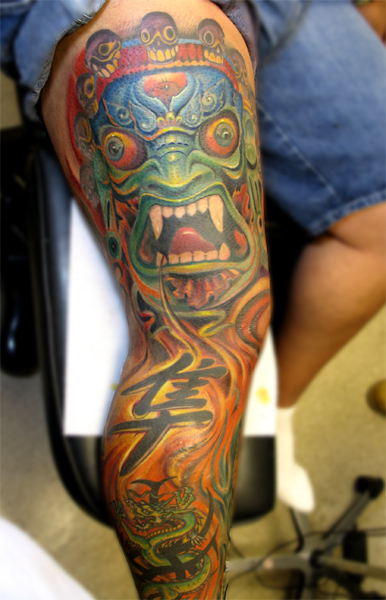 Keyword Galleries: Color Tattoos, Original Art Tattoos, Dark Skin Tattoos,