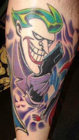 Batman Tattoos on Off The Map Tattoo   Tattoos   Timmy B   Batman Villians