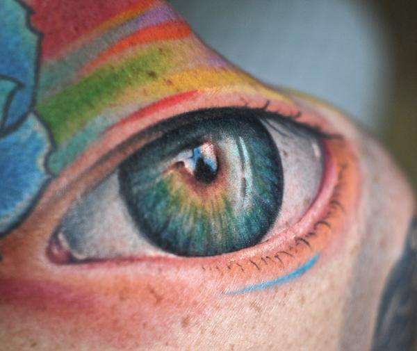 In general, tattoos are not very often in your eyes. eye-tattoo.jpg