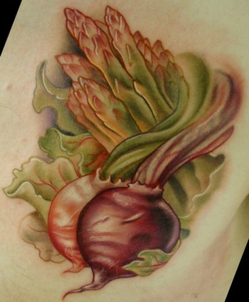 Holy god do I love food tattoos. Keyword Galleries: Color Tattoos,