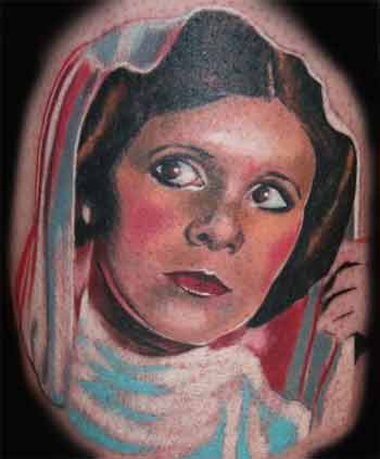 Keyword Galleries: Color Tattoos, Portrait Tattoos, Movie Star Wars Tattoos,