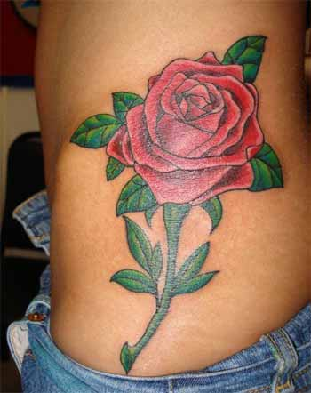 Flower Tattoos. Rose. Now viewing image 24 of 24 previous next