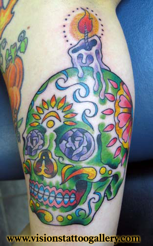 day of the dead girl tattoo meaning. day of dead masks designs. day