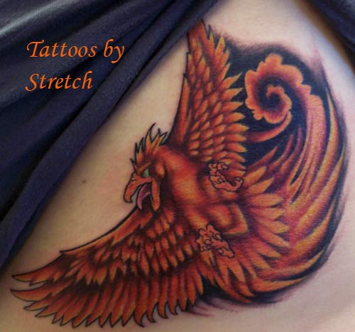 < previous | next > Looking for unique Color tattoos Tattoos? Phoenix Tattoo