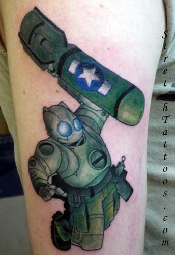 Tattoos > Page 4 > Robot Tattoo Now viewing image 33 of 82