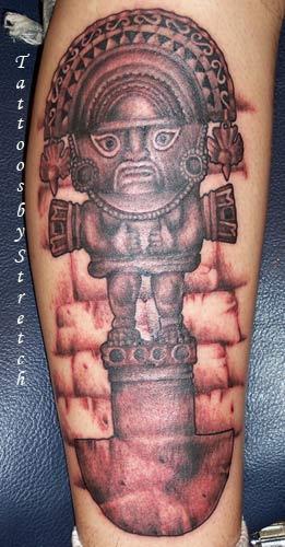 bueno estare participando en la inka tattoo internacional gracias por el