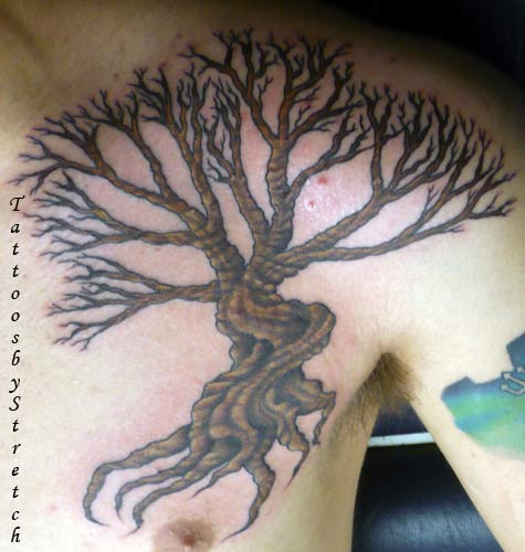 < previous | next > Looking for unique Tattoos? Tree Tattoo