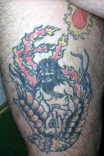 Bad Tattoos - Naked Guy On Bird Leave Comment
