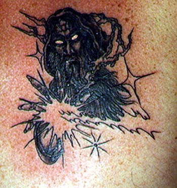 Really Bad 'In Loving Memory' Tattoo back - Funny,Bad Tattoos !