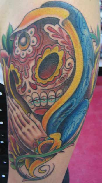 day of the dead tattoos. day of dead tattoos girls.