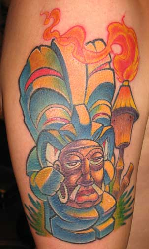 Best Tiki Tattoo Design picture 2