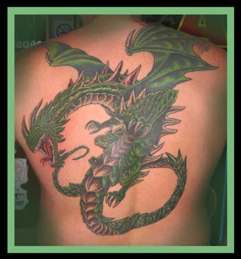 Keyword Galleries: Color Tattoos, Fantasy Tattoos, Fantasy Dragon Tattoos,