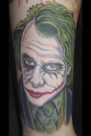 Because often times people are impulsive about getting tattoos and the joker