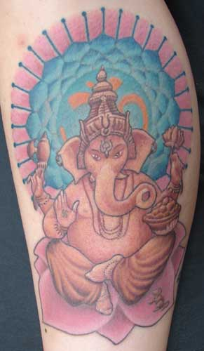 Looking for unique Tattoos? ganesha