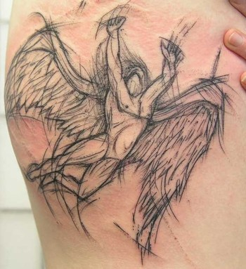 Tattoos. Tattoos Misc. sketchy swan song