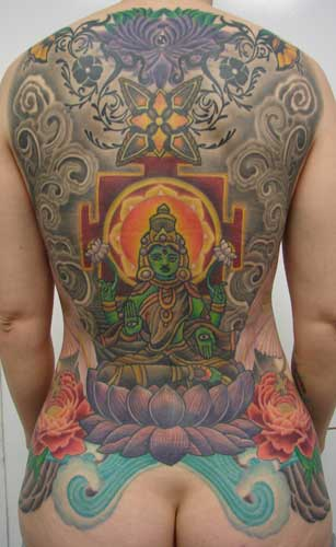 Tattoos · Page 1. tibetan backpiece (full)