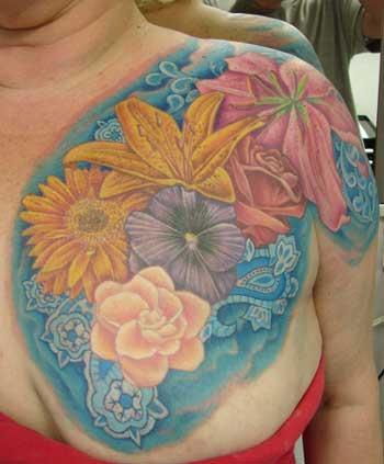 Find lily tattoos and tiger lily ures With Free Flower Tattoos Specially