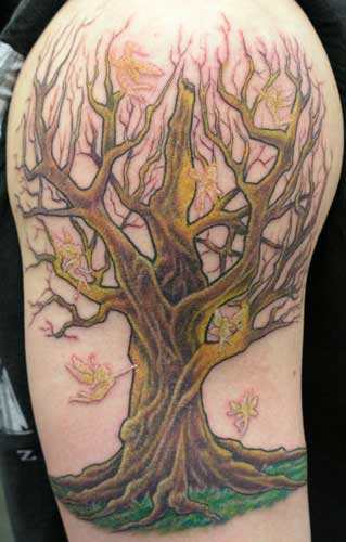 Tree of life celtic tribal tattoos designs pictures 2