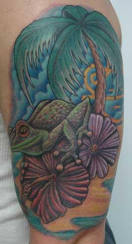 Gabriel Cece - tree frog