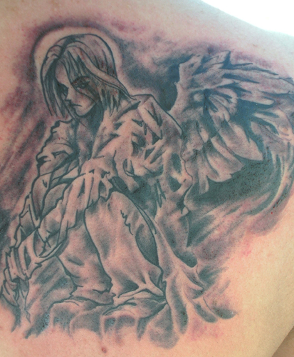 Looking for unique Dark Skin tattoos Tattoos? anime angel
