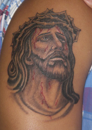Looking for unique black and gray tattoos tattoos jesus for Tattoos of black jesus