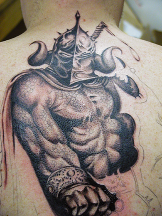 Medieval Warrior Riding Horse Tattoos on Medieval Warrior Tattoo Designs Hawaii Dermatology Dragones Medievales