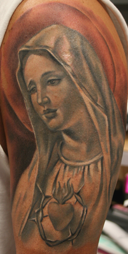 Tim Harris - Virgin Mary Leave Comment. Tattoos. Tattoos New. Virgin Mary