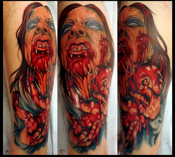 Hope Gallery Tattoo Tattoos Julio Rodriguez Zombie Mommy