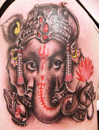 tattoo, tattoos, tattoo design, tattoo tribal, tattoo gallery, Tattoo Galleries: Ganesha Tattoo Design