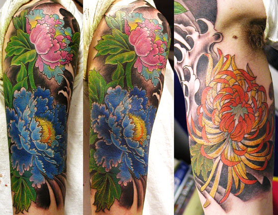 In general, flower tattoos have a connection with nature,