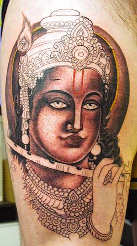 Tattoo Galleries: Krishna Tattoo Design