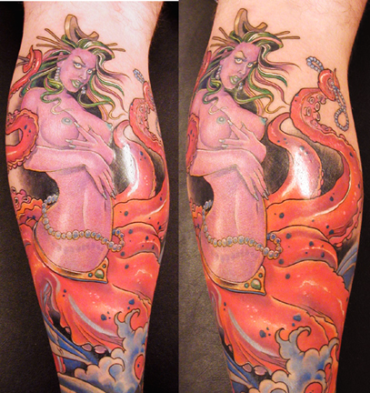 Blue ringed octopus tattoo james bond - photo#27
