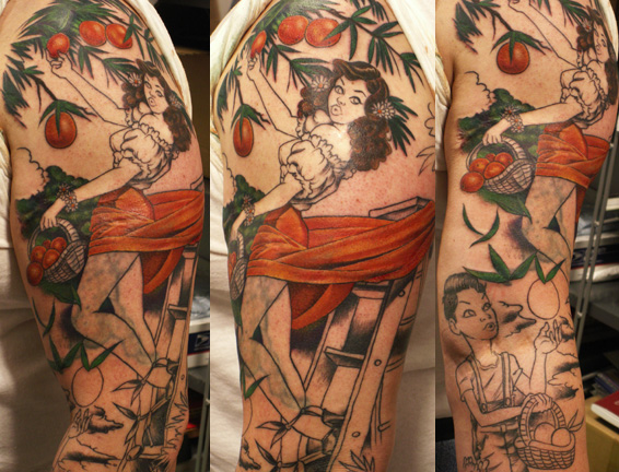 Joe Capobianco - Oranges from Heaven Leave Comment. Tattoos