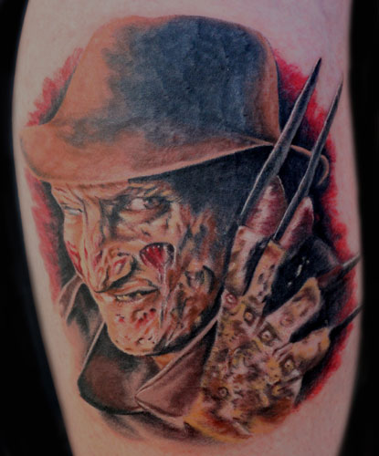 Keyword Galleries: Portrait Tattoos, Movie Horror Tattoos, Realistic Tattoos
