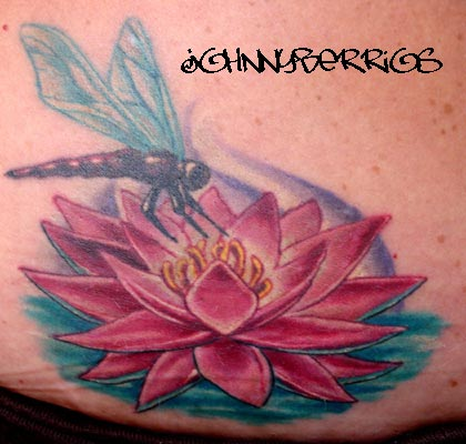 Tattoos ? Page 1. Lotus with