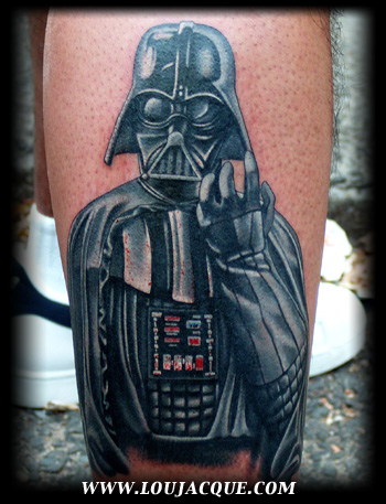 Looking for unique Portrait tattoos Tattoos? Darth Vader.
