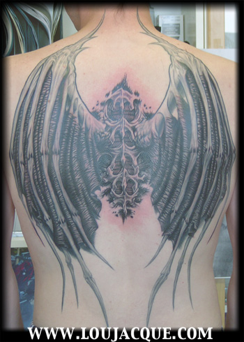 tattoo wings. Custom Tattoos, Wings