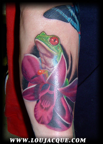 Looking for unique Realistic tattoos Tattoos? Tree Frog
