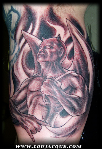 Demon on Inner Arm