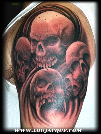 Looking for unique skulls tattoos Tattoos? Mark's Skulls