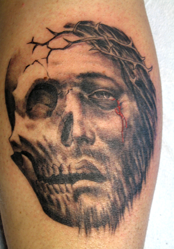 (Jesus tattoos - what do they