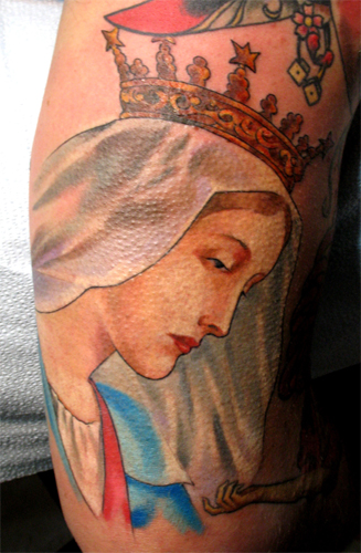Virgin Mary - Tattoo Sleeves < previous